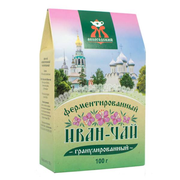 """Иван-чай ферментированный гранулированный """"Вологодский"""" 100 г"""