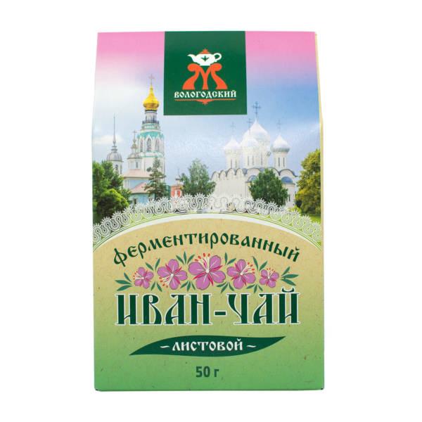 """Иван-чай ферментированный листовой """"Вологодский"""" 50 г"""