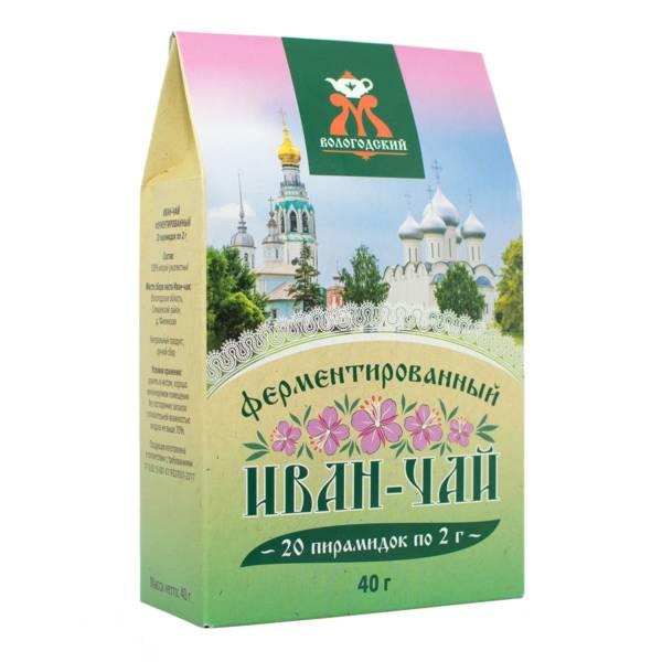 """Иван-чай ферментированный в пирамидках """"Вологодский"""" 40 г"""